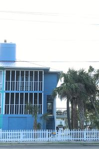 All decked out on Tybee Island!  One short block to the beach! sleeps 6   :)