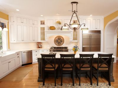 Best Derby Location! Historic Home, Movie Room, Four Bedrooms, Gourmet Kitchen