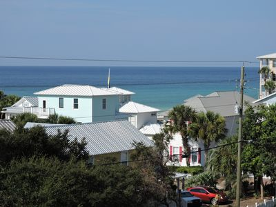 Photo for Just Breezin -4Bdr,4Ba-Rooftop terrace gulf view-Available June 8-15!