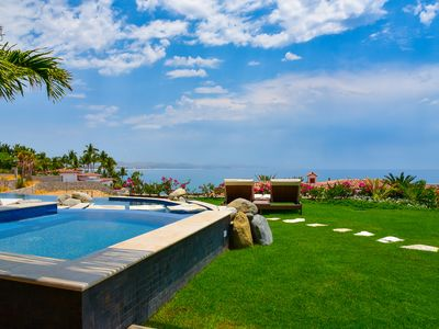 Photo for Club 96 included - Spectacular 4 Bedroom Oceanfront Villa in Palmilla