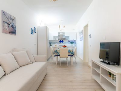 Photo for Ninfe del Mare-Dimora Galatea,elegantly refined mezzanine apt,A/C,easy park