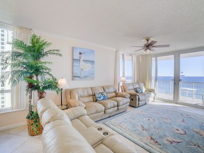 Photo for The Waves are Calling Your Name at this Luxurious Gulf Front Condo