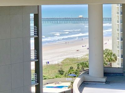 Photo for 602H Family resort with incredible ocean and sunset views from 6th floor
