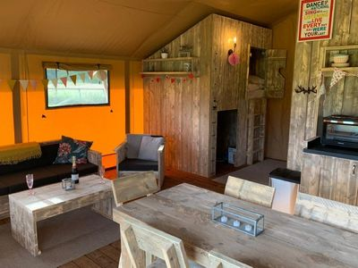 Photo for Muntjac is a wonderful safari tent situated in rural Norfolk with ample space