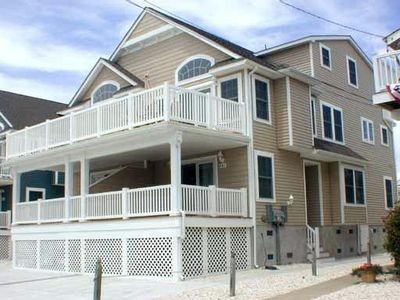 Photo for Close to town, tennis courts and  playground  and the beach is just a short walk.