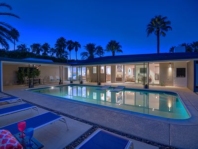 Photo for Hip Modern Movie Colony Pool Home Near Downtown PS + Mountain Views