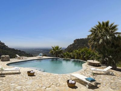 Photo for With Fantastic Outdoor Area and Infinity Pool - Villa Son Ver Manor
