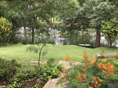 Photo for Riverfront Home in Downtown Kerrville at the Park