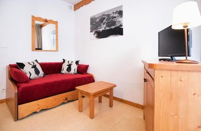 Photo for Residence Les Balcons de la Vanoise *** - 2 Rooms sleeping corner Mountain 5 People Renovated