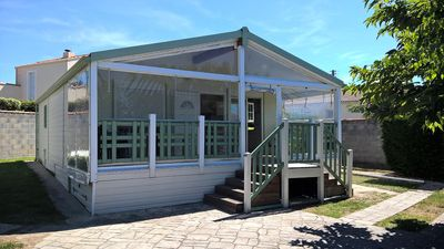 Photo for Camping de l'Auzance - Prestige Chalet XL - 3 bedrooms 58m² with terra
