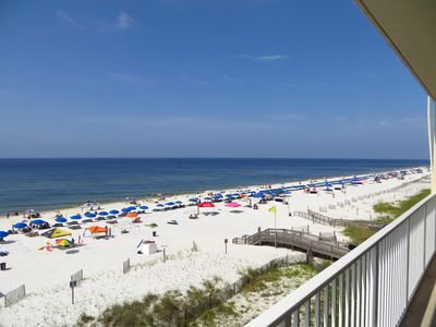 Photo for BEACHES,POOLS&RESTAURANTS NOW OPEN. Gulf Shores. Beautiful Beachfront Bliss!