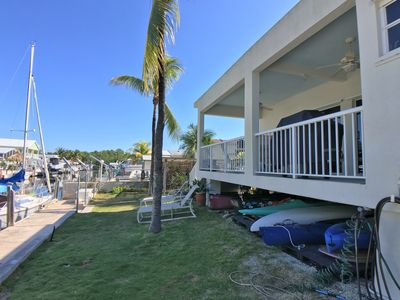 Photo for Oceanside Canalfront home - on Pennekamp Park waters