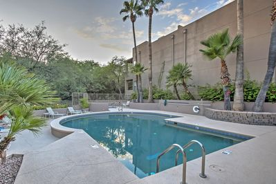 Take a dip in the community pool to beat the heat!