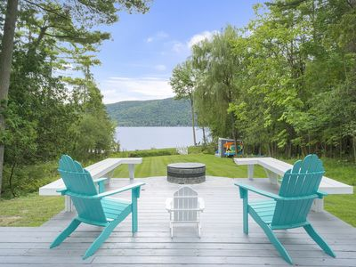 Photo for Beauty and Seclusion on Unspoiled Northern Lake George Awaits You!