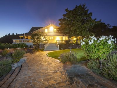 Photo for Wine Country Estate + Suite, Pool, Great for Groups!
