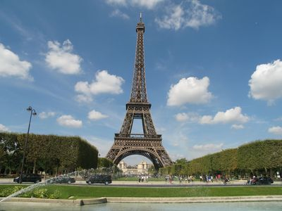 Photo for RIGHT ACROSS EIFFEL TOWER - 2 Bdrs Remodeled Apartment
