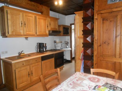 Photo for Apartment 8 pers. ski in ski out - 4 rooms 8 persons