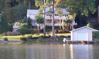 Photo for LUXURY LAKEFRONT HOME W/SWIMMING POOL & BOAT RENTAL