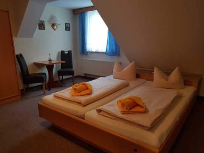 """Photo for Double room, max. 2 persons - Gasthof & Pension """"Zur Friedenseiche"""" (Guesthouse)"""