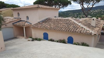 Photo for SPLENDID VILLA IN THE HEART OF THE GULF OF ST TROPEZ NEAR THE BEACH