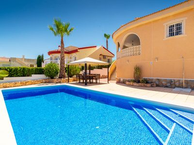 Photo for Villa Lanzarote - Private Pool, BBQ,  & Panoramic Views - C. Quesada - 8 people