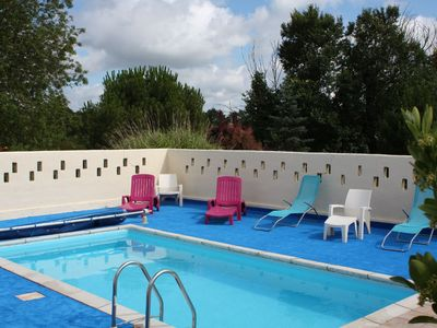 Photo for Holiday with horse breeder with pool for 6 persons