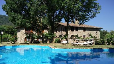 Photo for Rural apartment Mas El Carrer for 6 people