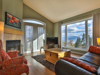 Photo for Les sommets Charlevoix - Condo number 57 Higher floor 1 to 4 people
