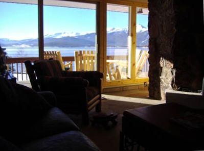 See Snow Capped Breckenridge and Keystone Ski Mountains from Your Living Room!