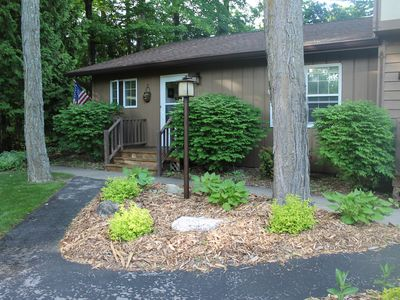 Photo for Sister Bay Condo, Walk to the Beach and Village