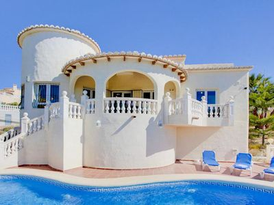 Photo for Villa Flora Mar is a newly built three bedroom villa located on the hillside with spectacular views