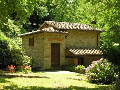 Photo for 2BR Cottage Vacation Rental in Molezzano, Toscana