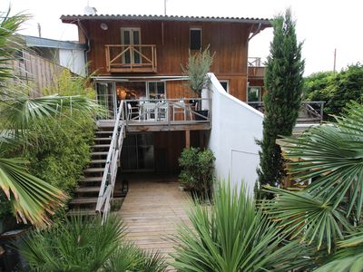 Photo for Arcachon beautiful townhouse 4CHb with terraces and large patio SOUTH