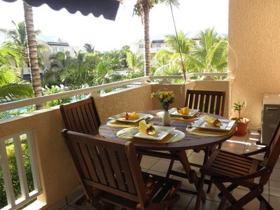 Photo for Le Dattier - Holiday in Mauritius - luxury apartment with internet