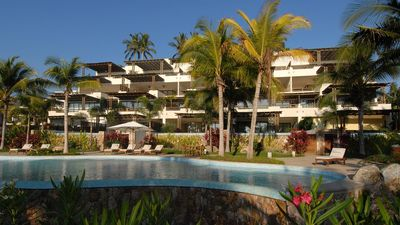 Photo for Los Veneros beachfront - with personal chef and jacuzzi - next to the W hotel.