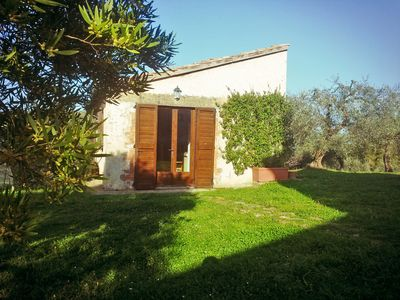 Photo for Cottage among olive trees superb views very close to Capalbio
