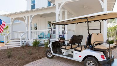 Photo for Look at Pics,2750 sqft! 6 Passenger Cart Included,Backyard Privacy,1st Flr King