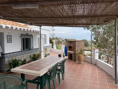Photo for Casa del Pipa Home On the Beach with Magnificent Sea View, Terrace, Balcony & Wi-Fi