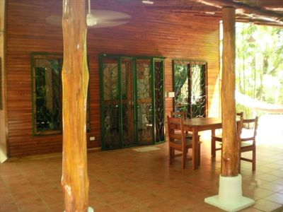 Entryway to Casa Jardin. Secluded and private for your comfort and peace.