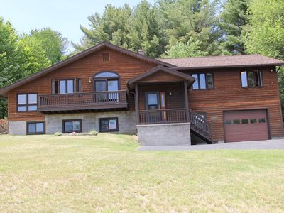 Photo for Adirondack Adventure - Beautiful Adirondack property in Tupper Lake.