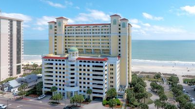 Photo for Oceanfront Studio for 6 | Private Balcony, Gym, Indoor Pool, and More!