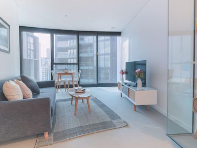 Photo for Sky High 2 Bedroom Apartment in Central Brisbane
