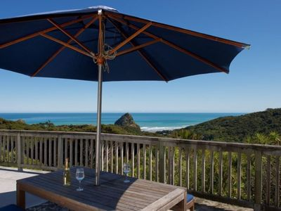 Photo for Piha presents this private picturesque getaway.