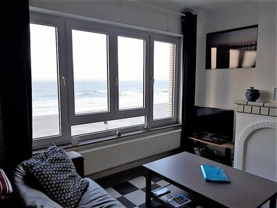 Photo for Two bedroom apartment with sea view Blankenberge