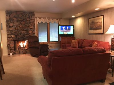 Photo for Hot Tub, Pool, Spa, Common Game Room, 10 minute Walk to Town & Lifts #153