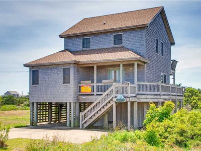 Photo for Amazing Sunset View Over the Sound w/ Hot Tub, Rodanthe Pier Passes, DogFriendly