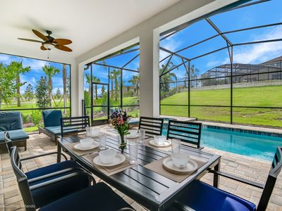 Photo for Stunning new pool home in Solara Resort, just 15 minutes from Disney!