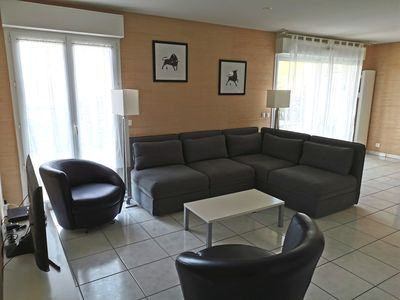Photo for Apartment 100 m2 with terrace 60 m2, 8 minutes walk from Socoa beach