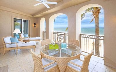 Photo for 3BR, Ocean Front, Private Residence 207 at The Ritz-Carlton, Grand Cayman