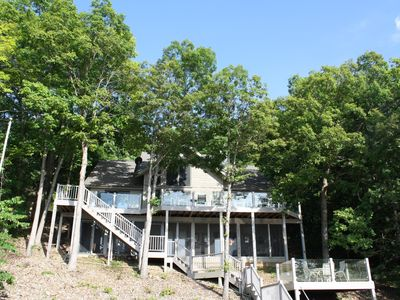 Photo for Tranquility - Lakefront 4 Bedroom Home in Quiet Area – MM 53 & 10 min. to Laurie